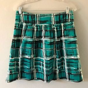 The Limited   Women's SMALL Skirt w/ Pockets -Teal